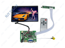 "Free shipping HDMI VGA 2AV Remote Controller Board Plus 7"" N070ICG-LD1 1280X800 IPS LCD Screen"