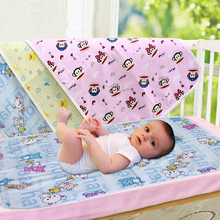 120*70CM Cotton 3 Layers Baby Portable Urine Mat Matelas Waterproof Infant Bedding Nappy Changing Cover Pads