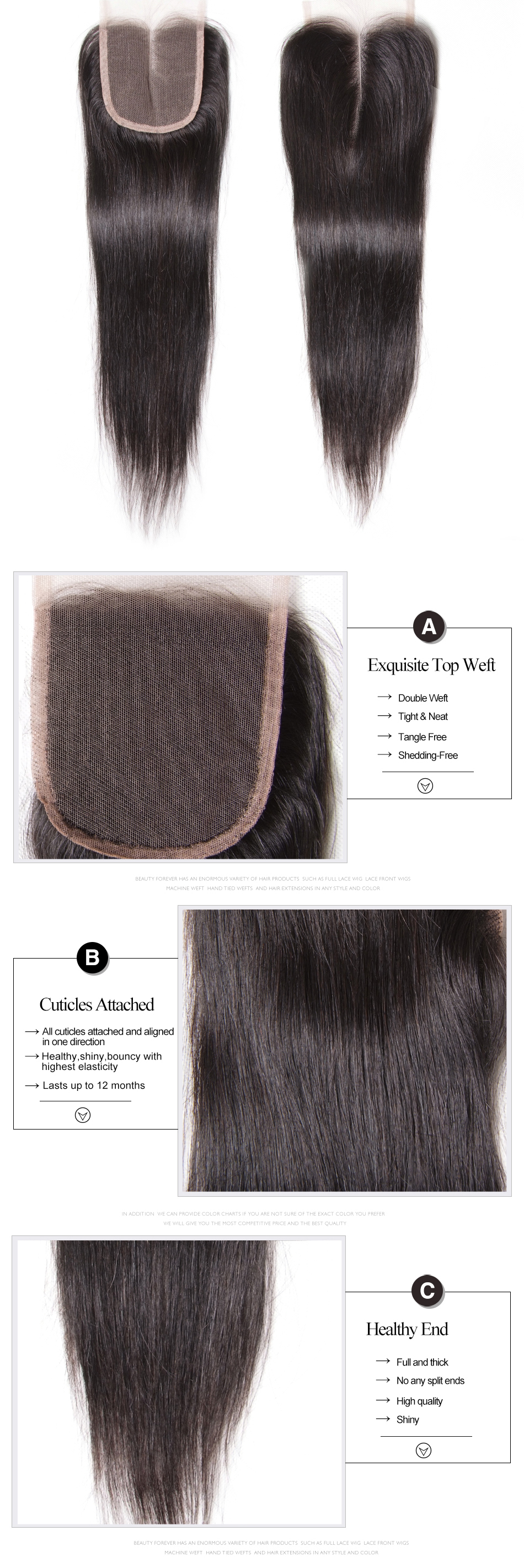 brazilian straight hair closure (3)