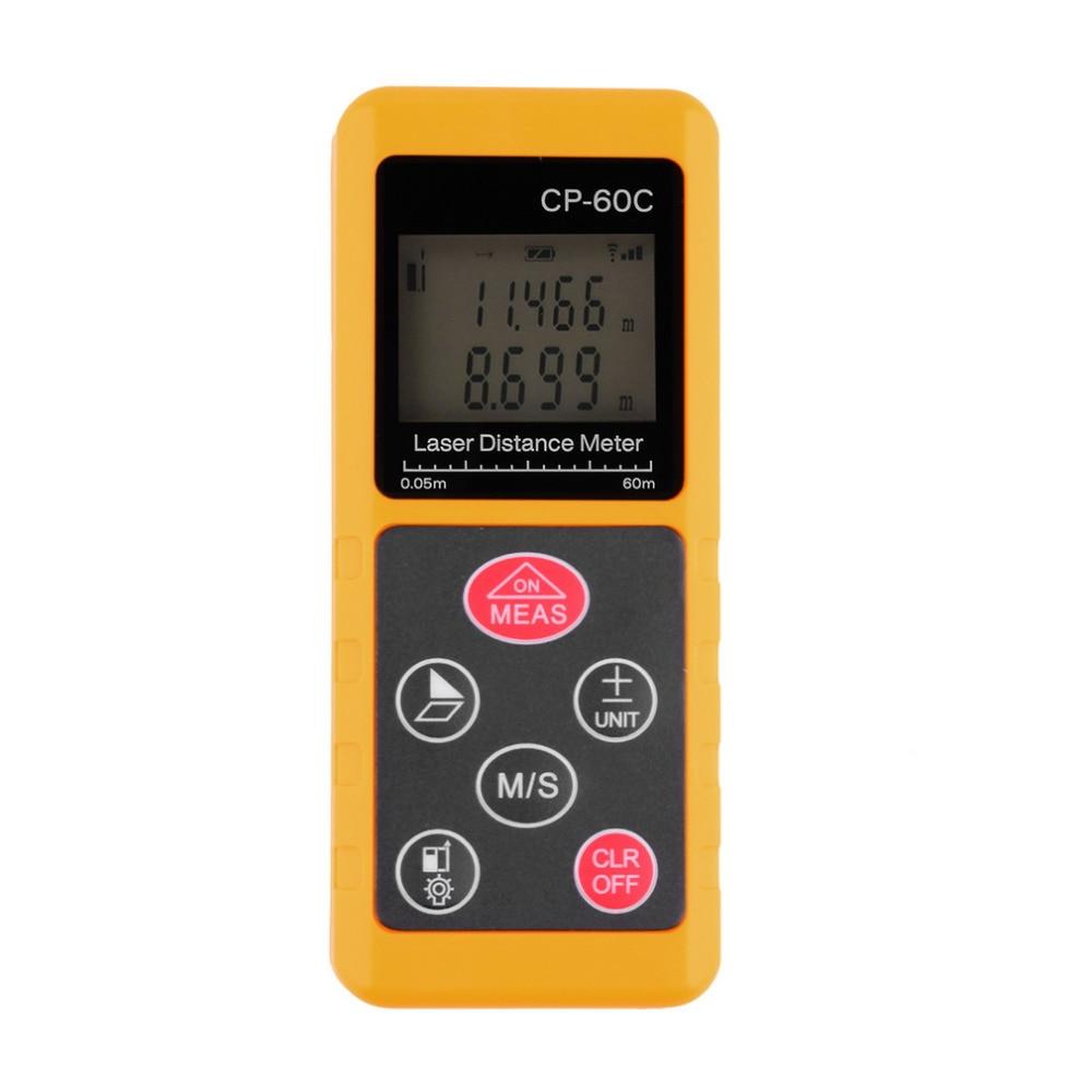 60m Laser Distance Meter Measure Electronic Handheld Rangefinder Brand New<br>