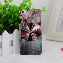 A2184 Resident Evil Umbrella Corporatio Transparent Hard Thin Case Cover For Apple iPhone 4 4S 5 5S SE 5C 6 6S 6Plus 6s Plus