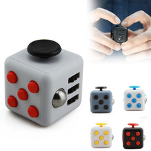 Fidget Cube Toy Squeeze Fun Anti Stress Puzzle Fidget Toys Magic Cube Toys Magic Cube Come With Retail Box Stress Wheel(China)