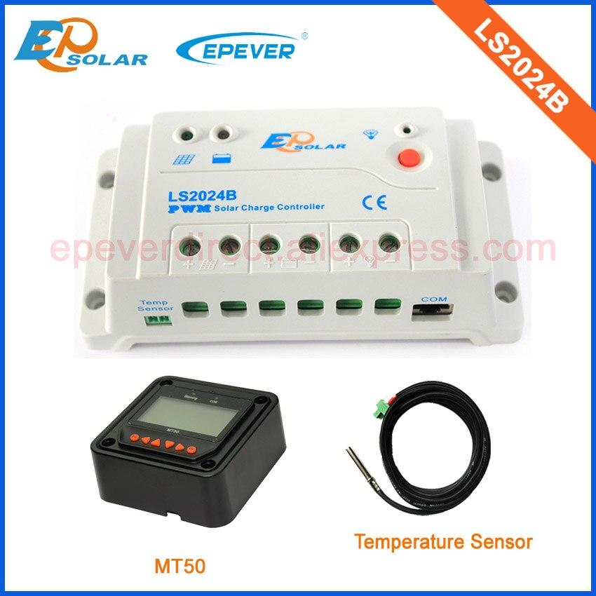 EPsolar PWM 20A 20amp Regulator solar panels Battery with MT50 remote meter and temperature sensor LS2024B <br>