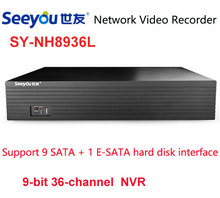 Buy Seeyou NVR 36CH H.265 Support App 5MP P2P Network Video Recorder Full HD 720P 960P 1080P Recorder 9SATA 2USB Interface for $360.00 in AliExpress store