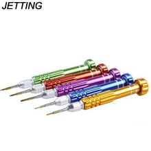 JETTING 5 in 1 Professional QPtools Screwdriver Set Precision for iphone Samsung Galaxy Smart Phone Repair Dismantle Tool