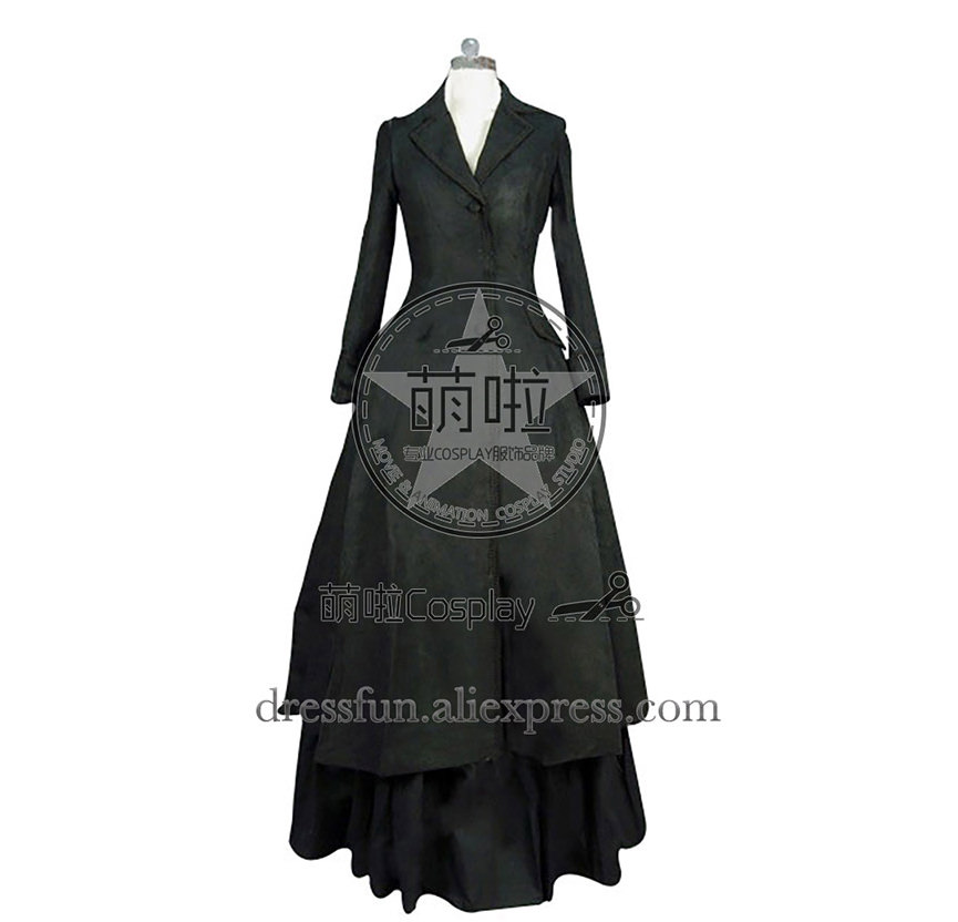 Victorian Lolita Edwardian Coat Jacket Punk Lolita Dress With Glossy Surface And Elegance Cool Fashion fast Shipping Halloween
