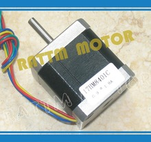 New products!!! Nema17 stepper motor 0.9 deg /48mm/ 78 Oz-in / 1.8A CNC stepper motor stepping motor(China)