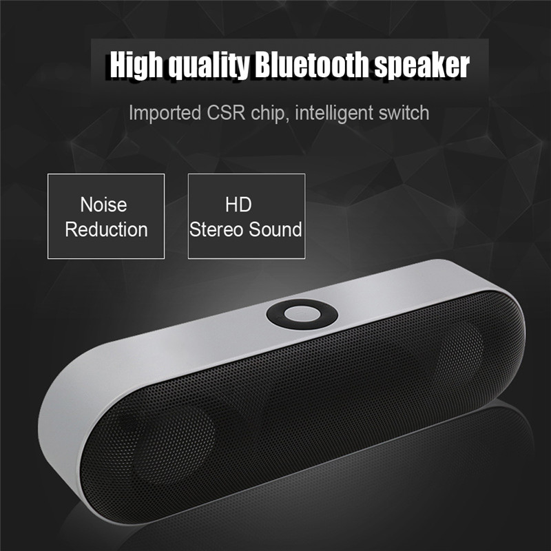 Original NBY-18 Bluetooth Speaker Wireless Speaker Sound System 3D Stereo Music Surround Support Bluetooth TF AUX USB for Phone