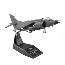 1:72 Scale Alloy Diecast Aircraft Model Toys UK 1982 BAE Sea Harrier FRS Mk I Aircraft Airplane Fighter Model Toys for Children(China)