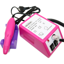 Pink electric nail file machine 20000rpm nail drill professional nail polishing machine used for nail art equipment