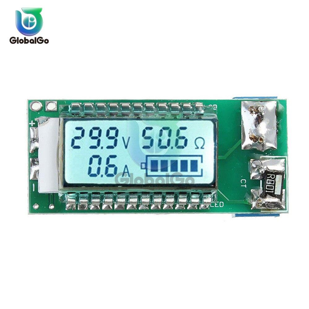 Digital 18650 Li-ion Lithium 7 Lead-acid Waterproof LCD Battery Capacity Tester