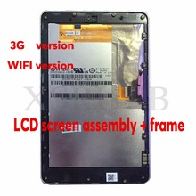 7 inch used For ASUS Google Nexus 7 2012 ME370TG 3G or Wifi version lcd display Touch screen +digitizer Full assembly With Frame