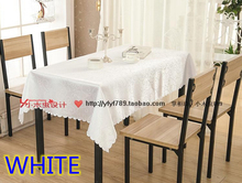 White colour jacquard Rectangle square wedding table linens,damask table cover for wedding,hotel tables decoration wholesale