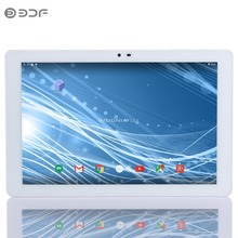 Original Quad Core 10.1 Inch Android 5.0 Tablets PC 1GB RAM 16GB ROM WIFI 1280*800 IPS High Definition LCD cheap and simple(China)