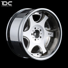 DC FOR 1/10 SCALE RC DRIFT CAR ALLOY WHEEL HUB (KB Type) offset +6 or +9 - 4pcs/set 90368