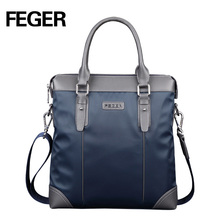 FEGER Fashion Men Messenger Bag Nylon Casual Shoulder Bag High Quality Office Bag Men Bags Free Shipping(China)