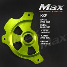 KX125 KX250 2006-2008 KX250F KX450F 2006 KX450R Front Brake Disc Rotor Guard Protector Cover For Dirt Pit Bike Enduro Motorcycle