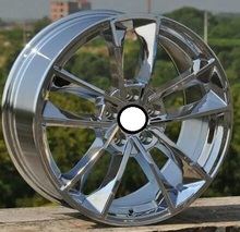 Chrome 18x8.0 5x112 Car Aluminum Alloy Wheel Rims fit for Audi S1 A3(China)