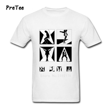 Michael Jackson T Shirt Men's Pure Cotton Men Short Sleeve Boy Round Neck Tshirt Guy Costume 2017 Funny Picture T-shirt For Man(China)