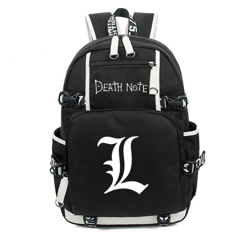 Japan Anime Death Note Backpack Large Oxford Luminous Printing Shoulder Bag for Boys Girls Travel Laptop Book Bags<br><br>Aliexpress