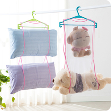 Creative Pillow Cushion Storage Bag Shelf Drying Laundry Drying Nets Drying Pillow Rack With Multiple Drying Racks