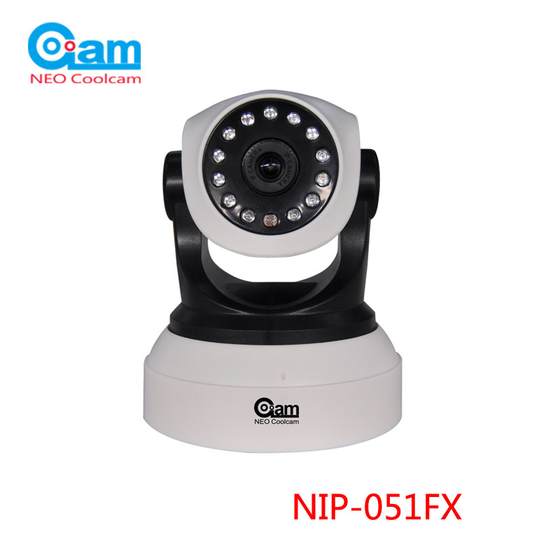NEO Wifi Camera HD 720P 1MP 3.6mm lens Smart CCTV Security Camera P2P Network Baby Monitor Home Protection,SN:NIP-51FX<br>