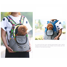 Travel Backpack Head out Design Adjustable Shoulder Strap Dog Carriers Shoulders Back Front Pack Dog Cat Travel Bags Hot Sale