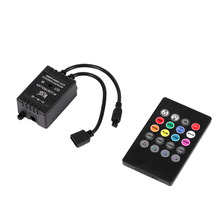 1 Set LED Music Controller 20keys IR Remote Sound Sensor Controllers for RGB Strip Lights