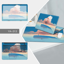 Laptop Sticker Mouse Pad Sets Skin for Dell 13D 13 7353 7000/11B 11 3152 3000/Vostro 14 5459 5000/for inspiron 14 5459 5000 Case(China)