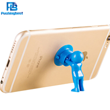 Pushingbest Universal Cute 3D Man Hercules Phone Holder Villain Stand Supporter For IPhone For Samsung Xiaomi Huawei oppo