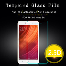 Buy xiaomi redmi note 5A Tempered glass Film Redmi Note 5A Global Version 5.5 inch Screen Protector Glass Guard Cover for $1.24 in AliExpress store