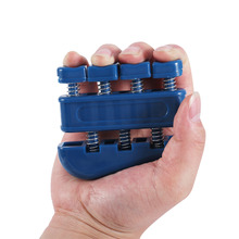 TSAI Adult Fingers Self Strength Exerciser Heavy Wrist Tension Extend Hand Master Trainning Fitness Equipment Blue