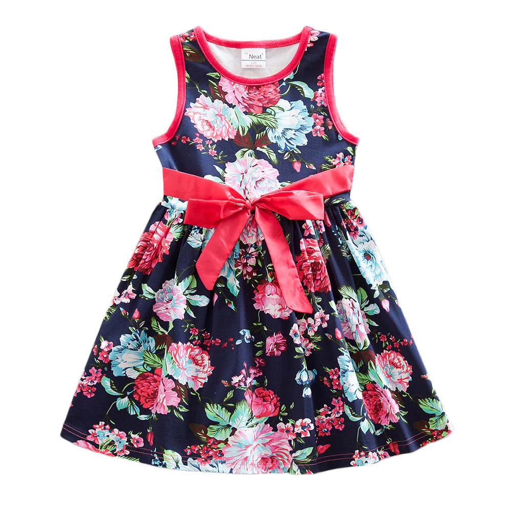 4-8Y 2017 New NEAT Nova Kid Summer Lace Dress Baby Girl Lace Print Tutu Party Dresses Vestidos Child Clothes Wear Nova SH6296<br><br>Aliexpress