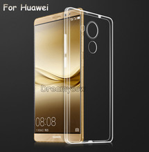 For Huawei P10 P9 P8 Lite 2017 Mate 9 Pro Premium Soft Clear TPU Case For Honor 9 8 7 6 5X 5C 4C Nova 2 Plus Cover Silicone Skin