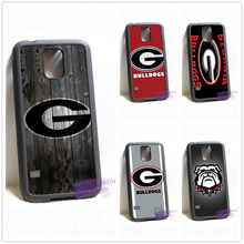 Georgia Bulldogs Wood fashion cell phone case cover for samsung galaxy S3 S4 S5 S6 edge S7 edge Note 3 4 5 #R336