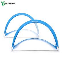 2pcs Pop Up Soccer Goal Portable Soccer Net with Carry Bag Sizes 2.3feet / 4feet / 6feet Blue/Red For Option(China)