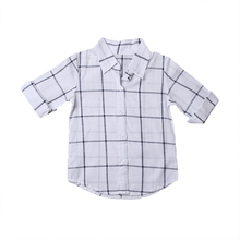 0-5T Newborn Baby Girls Outfits Clothes Summer Boy Girl Plaid Checks Dress Outfits 2017 New Bebes Clothing Set
