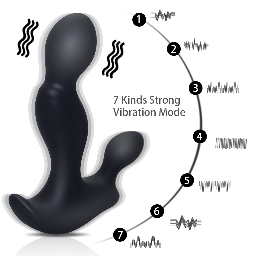 USB Rechargeable Silicone Prostate Massager For Men Gay Anal Sex Toys Waterproof Anal Vibrator Male G spot Vibe Anal Toys