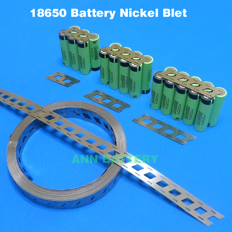 18650 battery pure nickel strip LiFePo4 LiMn2O4 LiCoO2 cell connect the nickel belt Cylindrical batteries nickel tape<br><br>Aliexpress