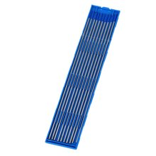 1.6/2.0/2.4 x 150mm Silver&Blue Tip WL20 Model TIG Welding Lanthanated Tungsten Electrode in Case Pack of 10(China)