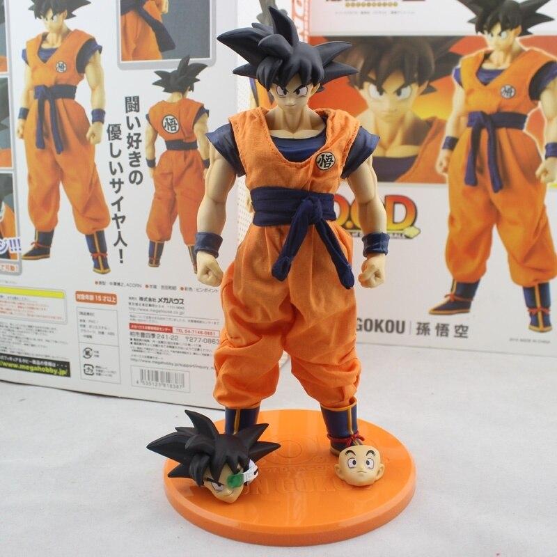 Dragon Ball Z DOD Son Goku PVC Action Figure 21CM Model Toy<br>