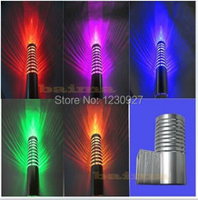 3w LED wall lamp LED wash wall lamp KTV barbershop light picture lamp colourful RGB wall background spot light(China)