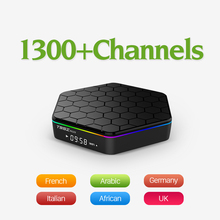 Dalletektv Europe Arabic French IPTV Channels Android 6.0 IPTV TV Box S912 T95ZPLUS 3G 32G Support Sport French Iptv Set Top Box