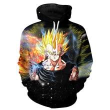Otoño Invierno Hombre Sudaderas Con Capucha Negro Impresión 3d Sudadera Con Capucha  Hombre Sudadera Con Capucha Goku Dragon Ball. 5c9792bb1333
