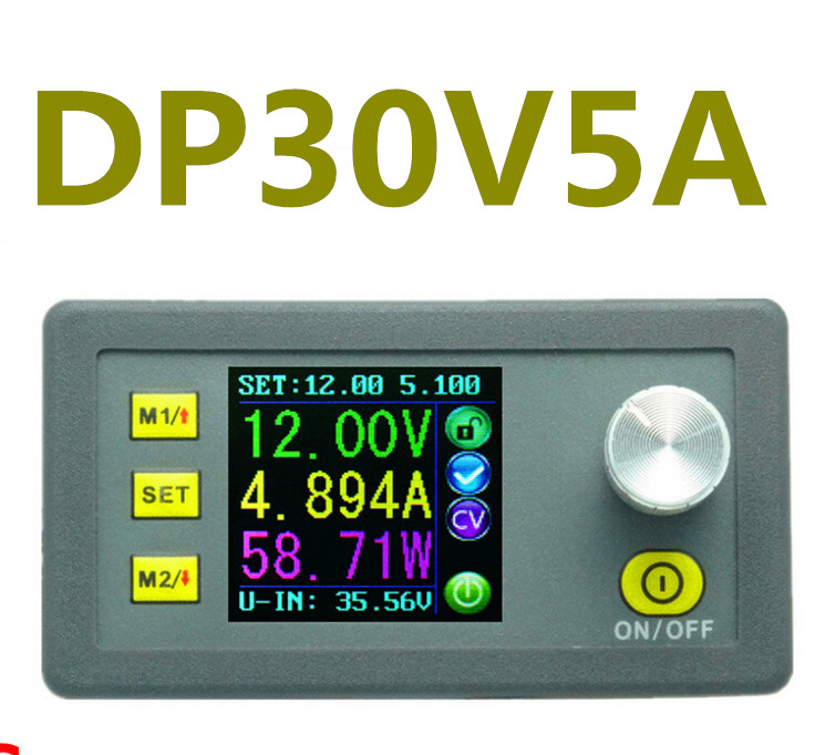 New DP30V5A LCD display Constant Voltage current converter regulator voltmeter with Step-down Programmable power Supply Module<br><br>Aliexpress