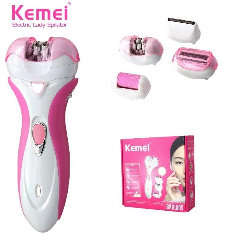 KEMEI 2531 4 In 1 Grinder Women Epilator Electric Shaver Wool Device Shaving Lady Female Trimmer Razor Care Depilation Depilator<br><br>Aliexpress