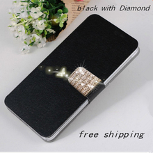 New Silk Mobile Phone Bags Cases For Samsung Galaxy S4 Mini S4mini I9190 I9192 Fashion Flip shockproof Cell Case Cover Diamond