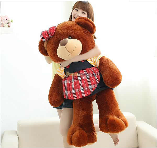 Fancytrader 39 / 100cm Lovely Stuffed Plush Giant Lover Teddy Bear Toy, 2 Models Available, Free Shipping FT50705<br><br>Aliexpress