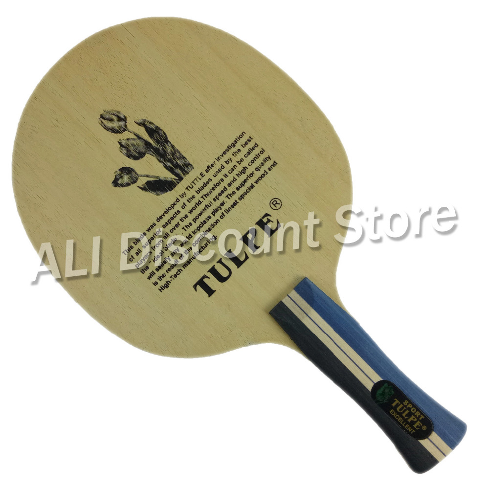 Kokutaku Tulpe T-701 Wooden Table Tennis Blade Shakehand AN handle for PingPong Racket<br>