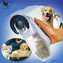 New Arrival Pet Shed Pal Grooming Electric Pet Hair Suction Clipper Device Portable Cats and Dogs Massage Clean Vacuum Cleaner(China)